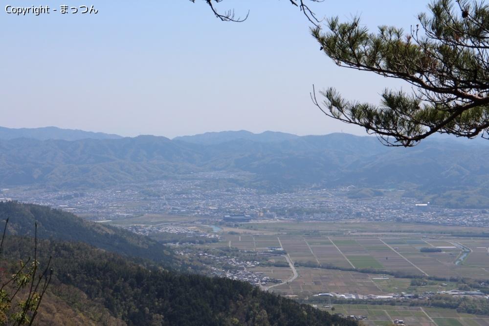 三郎ヶ岳より
