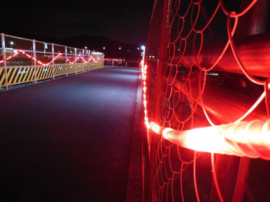 深夜の亀岡駅