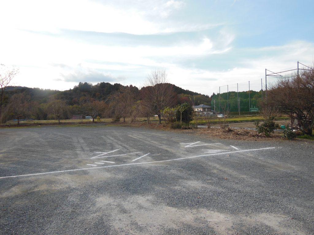 穴太寺駐車場